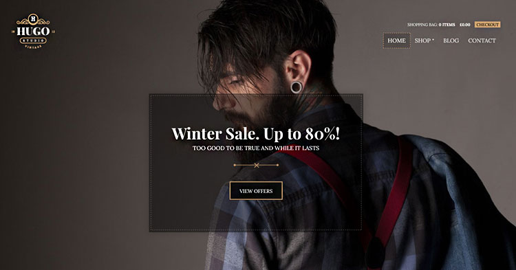 Download Hugo eCommerce WP Theme now!