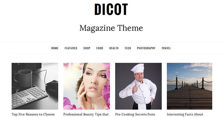 Download Dicot – Magazine WP Theme now!