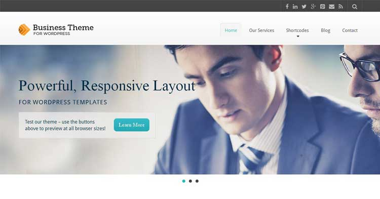 Download Business WP Theme now!