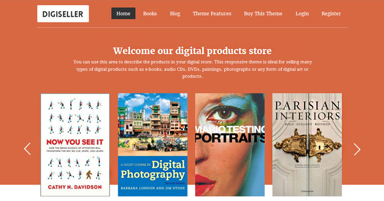 Download Digiseller Digital Selling Theme Now!