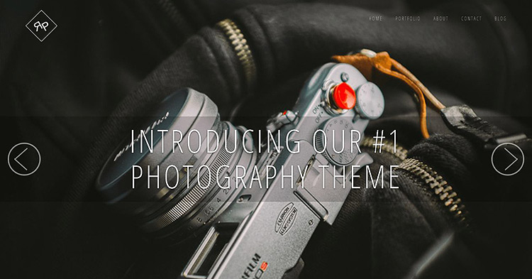 RokoPhoto Photography WP Theme