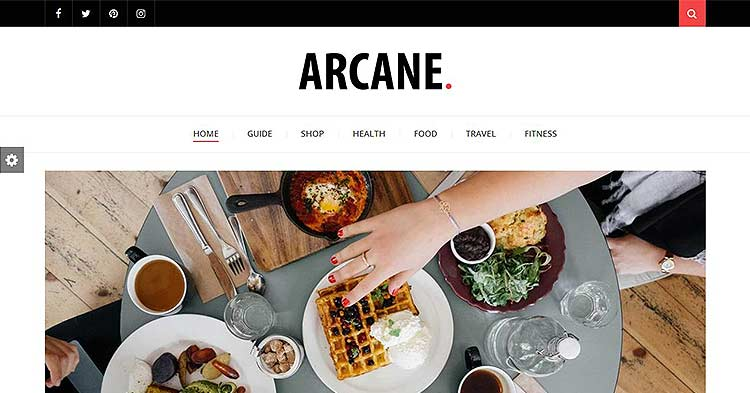 Arcane Magazine WP Theme