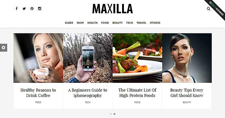 Maxilla Magazine WP Theme