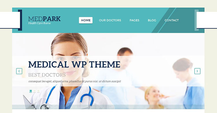 MedPark Medical WordPress Theme