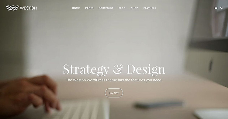 Weston WordPress Theme