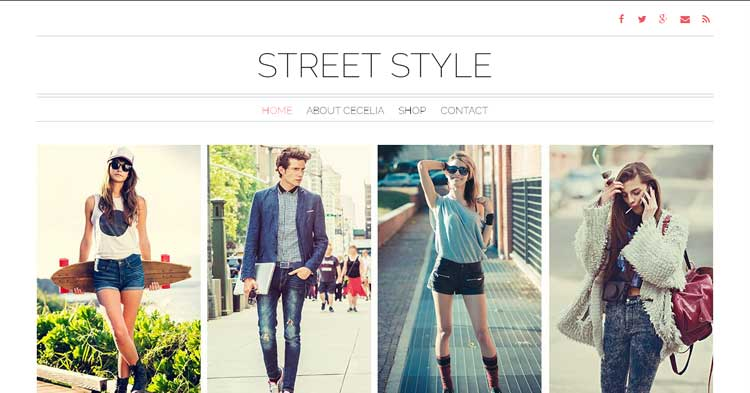 StreetStyle WordPress Fashion Theme