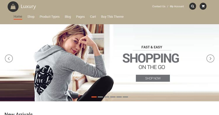 Download Luxury WooCommerce WordPress Theme Now!