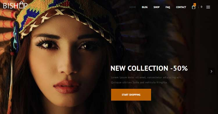 BiShop eCommerce WordPress Theme