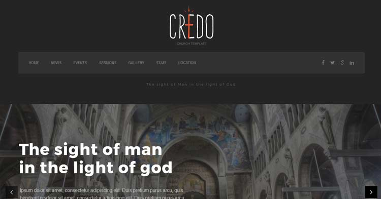 Download Credo Church Theme for WordPress Now!