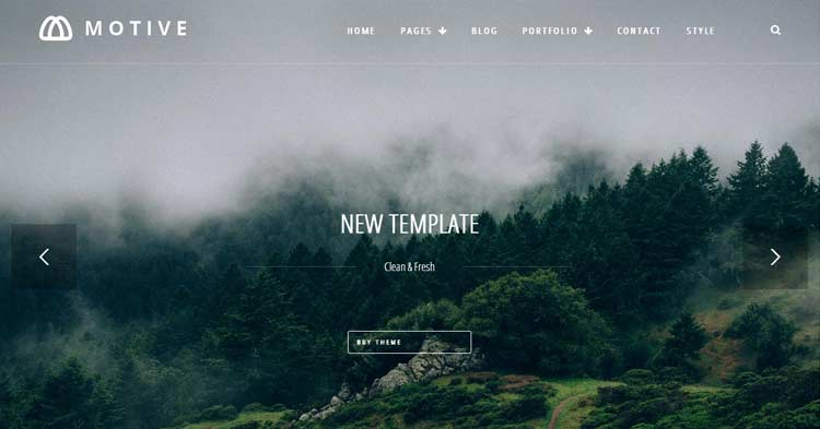 Download Motive Creative Portfolio WP Theme now!