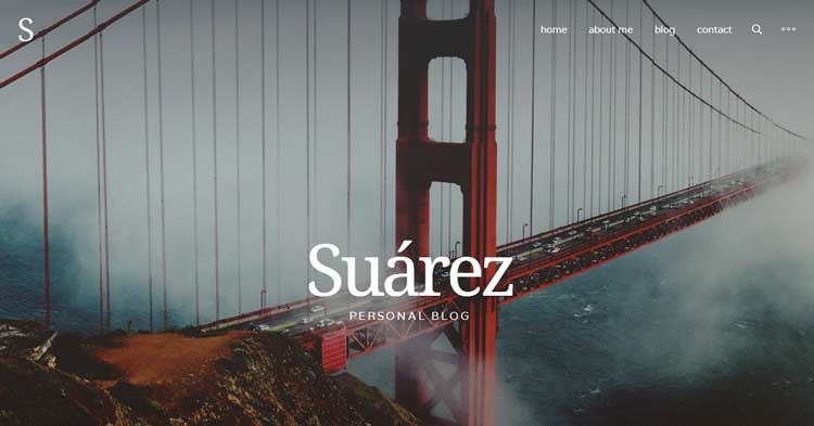 Suarez Creative WordPress Theme