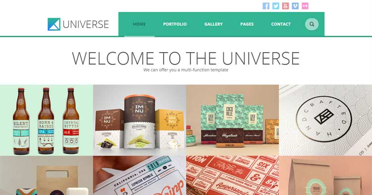 Universe Multpurpose WordPress Theme