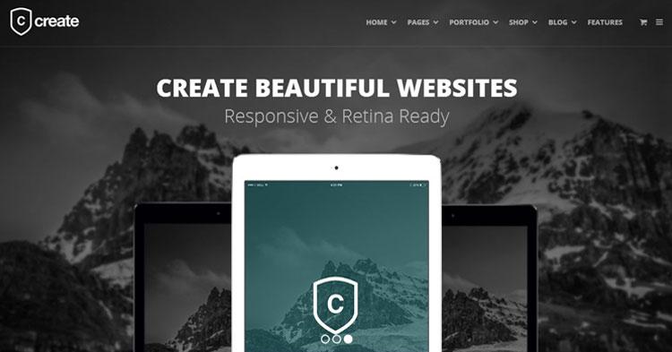 Download Create Versatile WordPress Theme now!