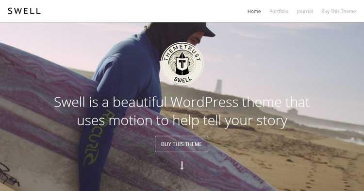 Download Swell Video BG WordPress Theme Now!