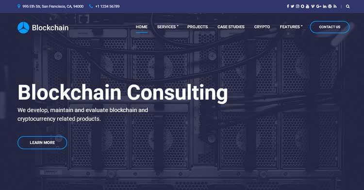 Download Blockchain Cryptocurrency WordPress now!
