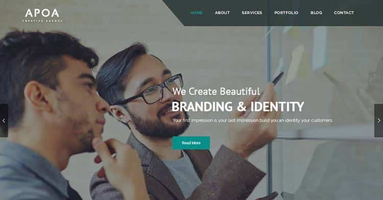 Download Apoa Business WordPress Theme Now!