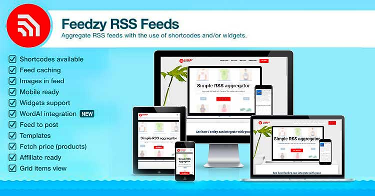 Download Feedzy RSS Feeds WordPress Plugin Now!