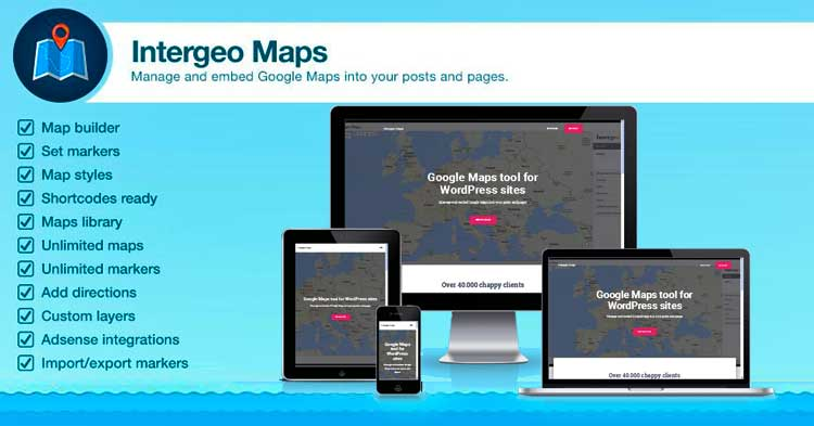 Download Intergeo Maps Pro WordPress Plugin