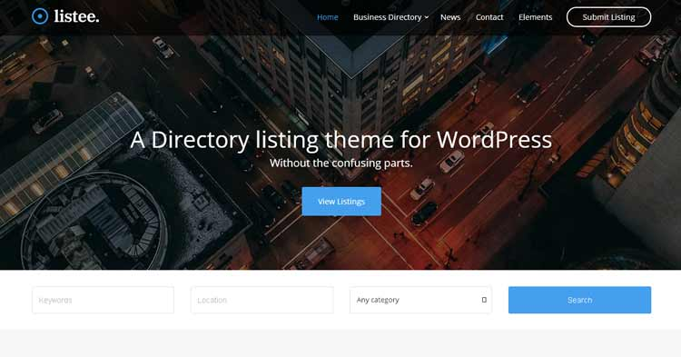 Download Listee Business Directory WordPress Theme Now!