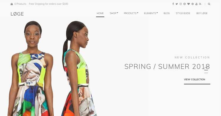 Download Loge Retail Store WordPress Theme Now!