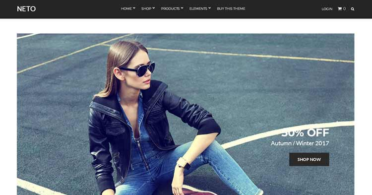 Download Neto WooCommerce WordPress Theme Now!