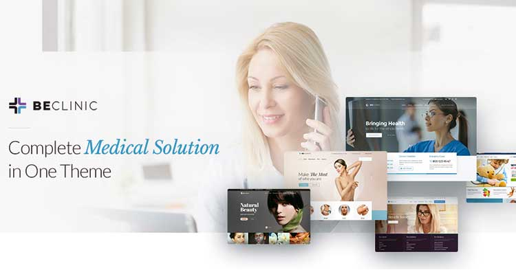 BeClinic Medical Clinic WordPress Theme
