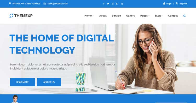 Download Themexp Corporate WordPress Theme now!