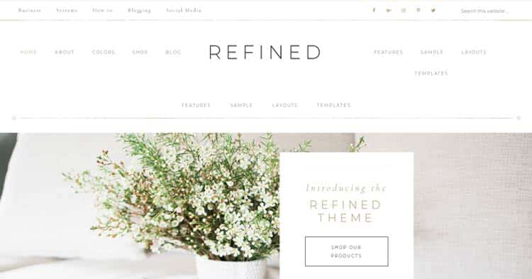 Download Refined WordPress Theme now!