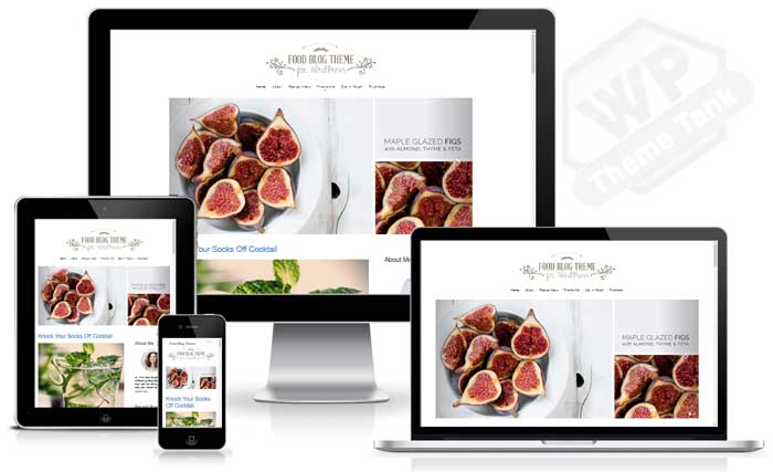 Nimbusthemes - Food Blog Theme Download