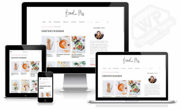 How to start food blog using Foodie Pro Theme