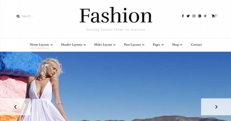 Download Blossom Fashion Pro WordPress Theme Now!