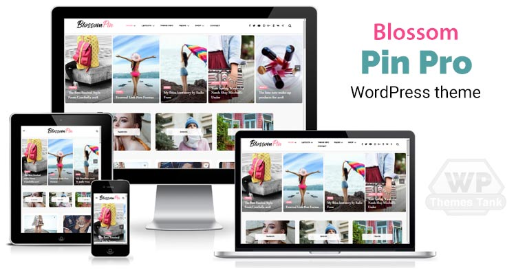 BlossomThemes - Download Blossom Pin Pro WordPress Theme for professional bloggers