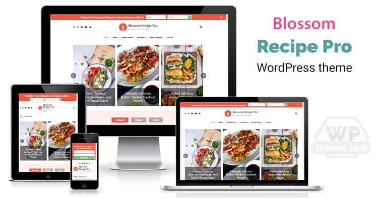 BlossomThemes - Download Blossom Recipe Pro WordPress Theme for Food Bloggers, Food Blogs, Recipe Blogs