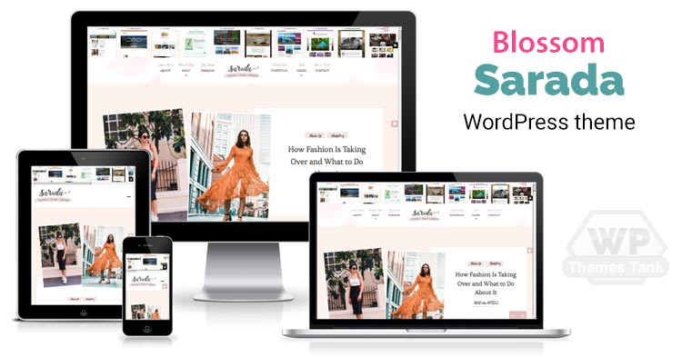 Download BlossomThemes Fashion / Lifestyle / Travel blog theme - Sarada theme