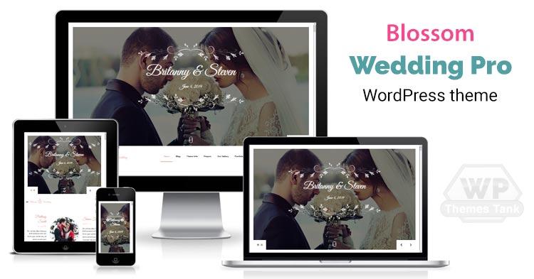 BlossomThemes - Download Blossom Wedding Pro WordPress Theme for Wedding Ceremony / celebration online invitation