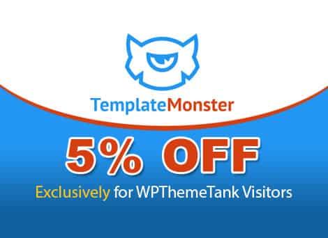 TemplateMonster Deal 5% OFF