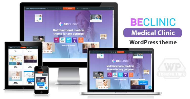 BeClinic - Medical Clinic WordPress Theme Download