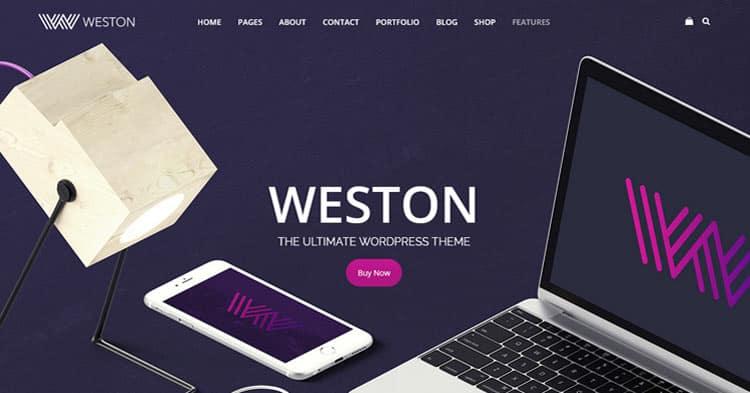 Download Weston WordPress Theme Now!