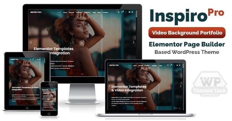 Download WPZooms - Inspiro Pro WordPress Portfolio Theme based on Elementor Page Builder